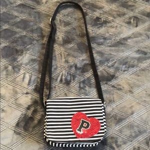 Justice crossbody purse
